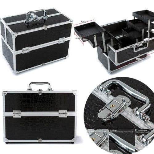 6 Tray Foldable Beauty Case