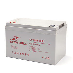 New Force 12V/100Ah Solar Battery