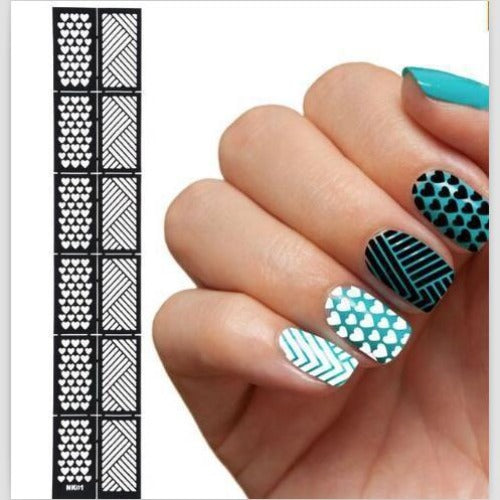 Nail Art Hollow Stickers