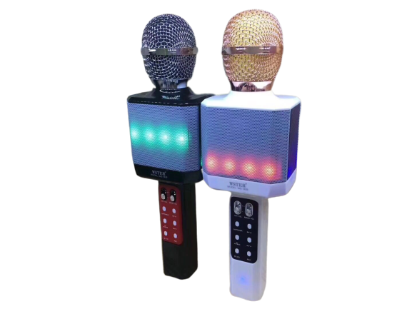 New LED Lamp Wireless Microphone Bluetooth
