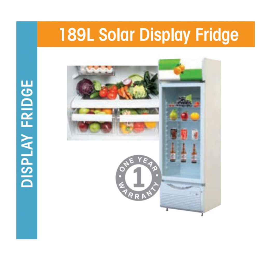 189L Solar Display Fridge