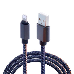 iPhone Jean Fabric Cable