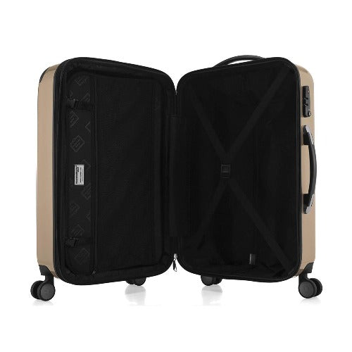 3 Piece Hard Expandable Spinner Luggage Set