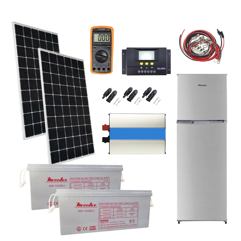 Solar Package With Fridge