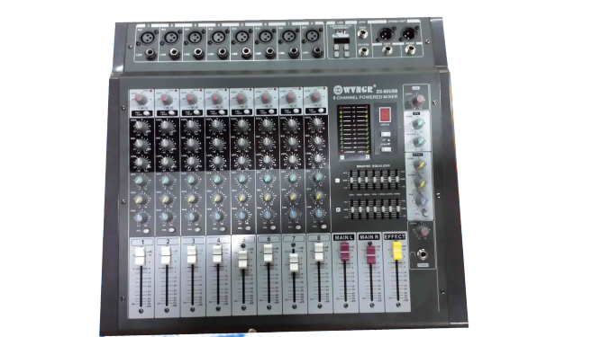 WG-8 mixer with amplifier