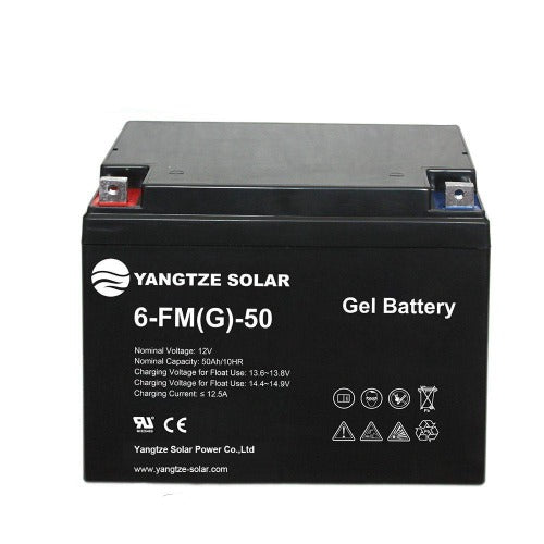 Gel Solar Battery 12v/50Ah