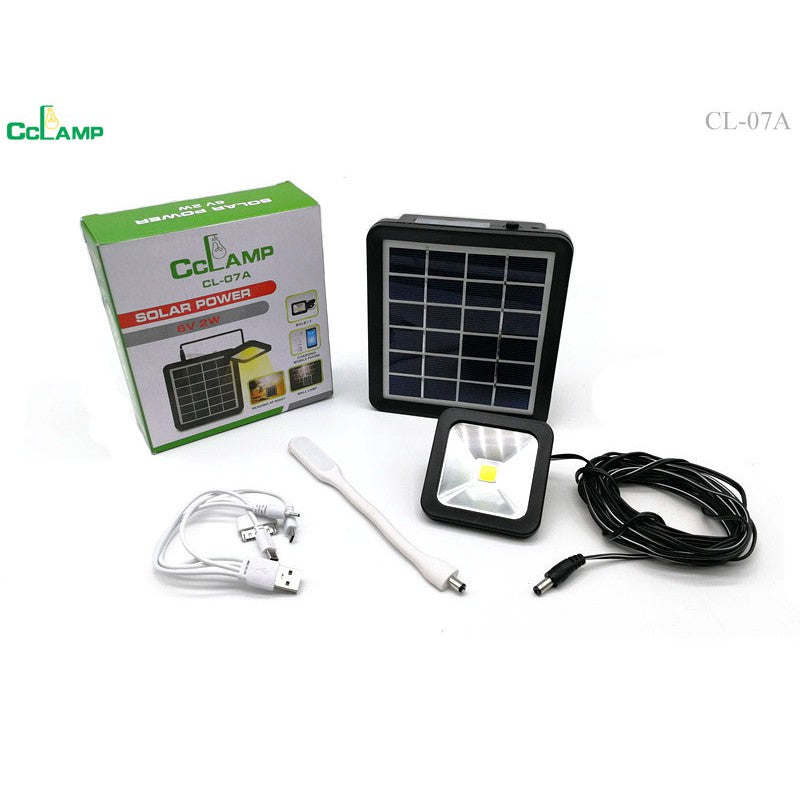 Cclamp solar power 6V 2W