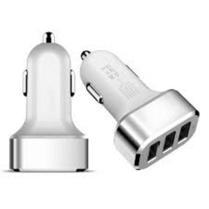 CAR TRAVEL CHARGER USB 3IN 1