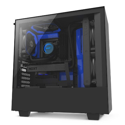 Compact Mid-Tower Case with Tempered Glass