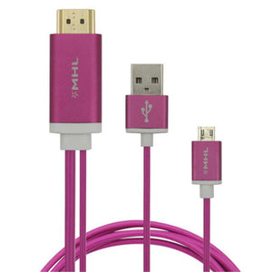 Micro USB to HDMI MHL Cable