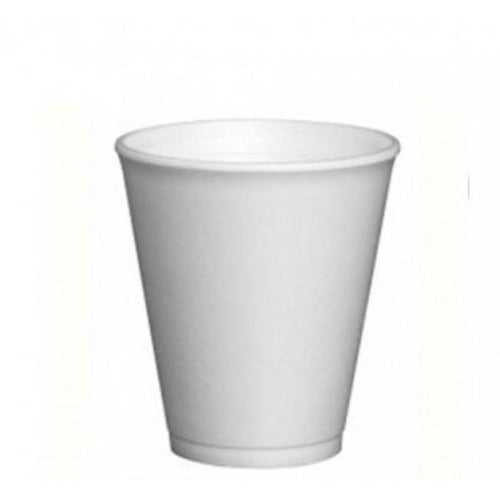 White Foam Cups (25 Cups)