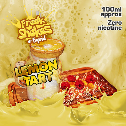 LEMON TART - FREAK SHAKES E-LIQUID - 70V/30PG - 100ML