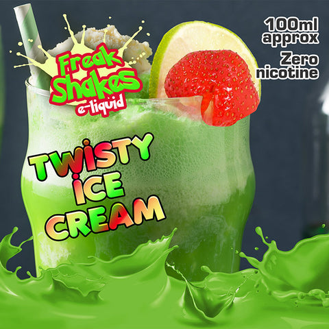 TWISTY ICE CREAM - FREAK SHAKES E-LIQUID - 70VG/30PG - 100ML