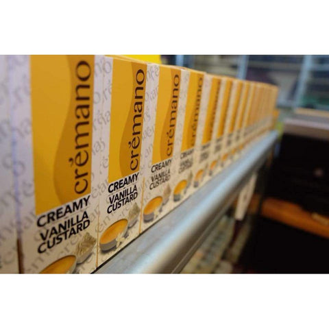 CREMANO - CREAMY VANILLA CUSTARD - 60ml - 0mg