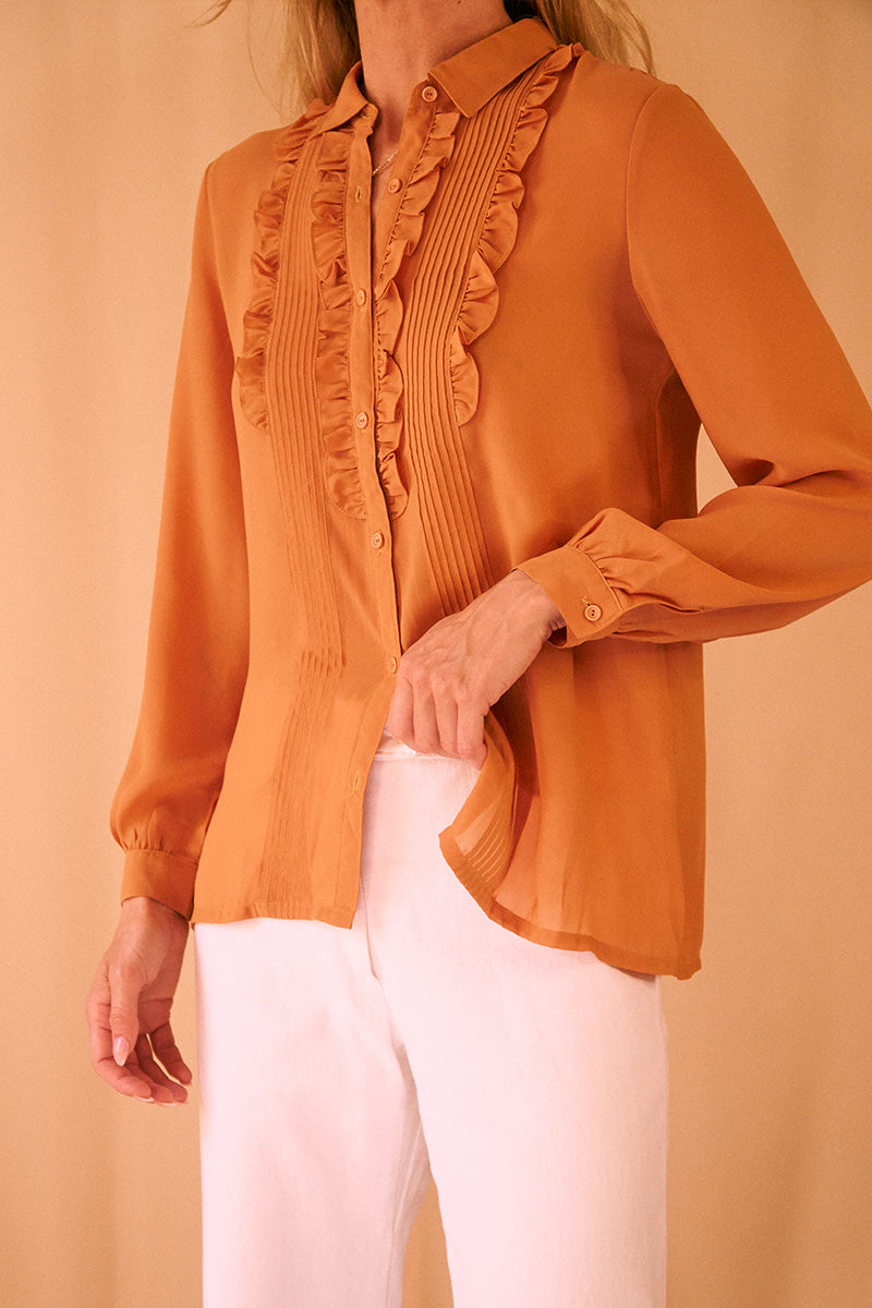 Ruffle Honey Blouse