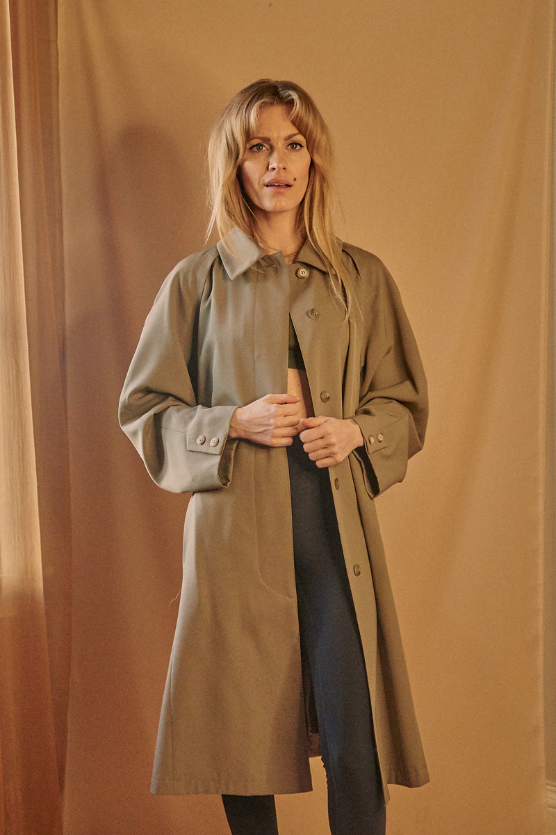 Clean Trench Coat