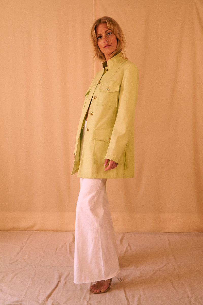 70's Lime Jacket