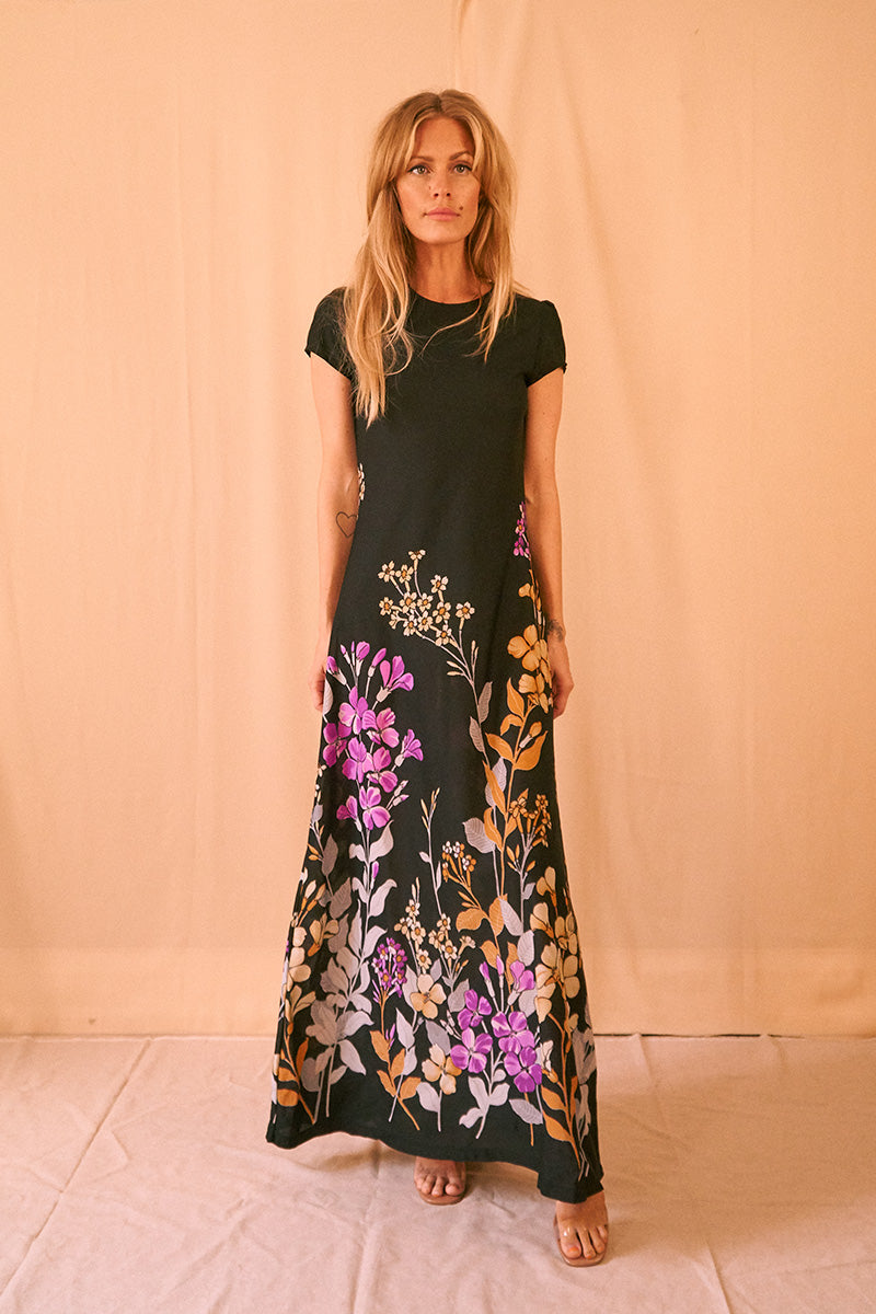 Flowerfield Maxi Dress