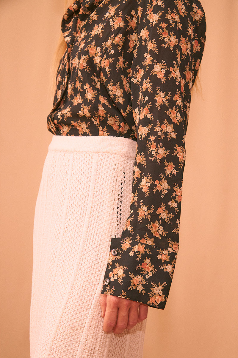 Autumn Flower Blouse
