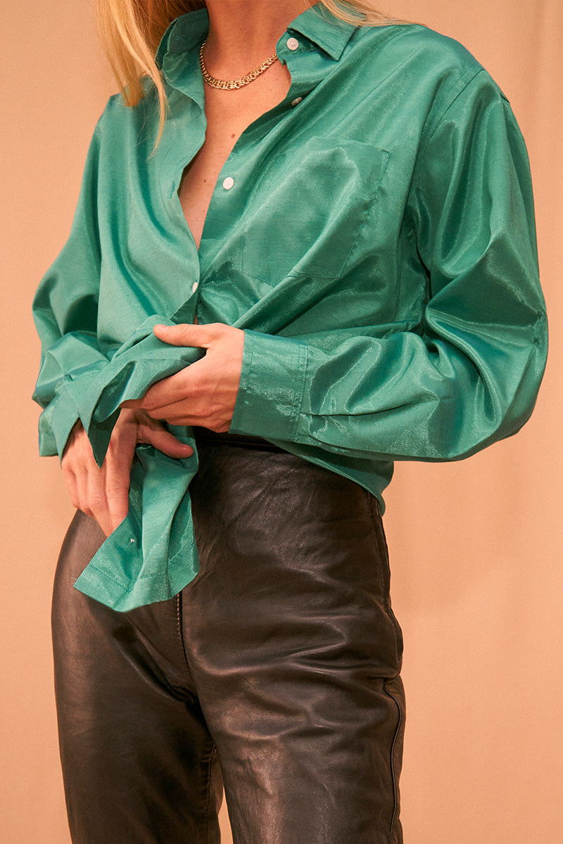 Emerald Green Shirt