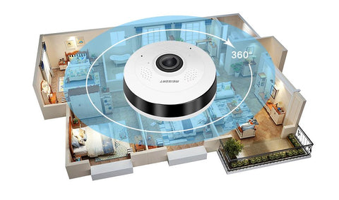 360 Degree Home Security Camera