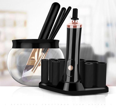 Makeup Brush Cleaning Spinner