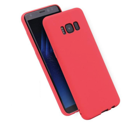 Phone Case for Samsung Galaxy - RED - Ultra Thin Soft Matte