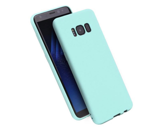 Phone Case for Samsung Galaxy - MINT GREEN - Soft Thin Matte