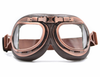 Image of Classic WWII Vintage Harley Style Motorcycle Goggles