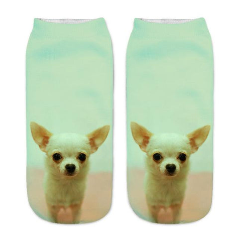 Hilarious Puppy Dog Printed Socks