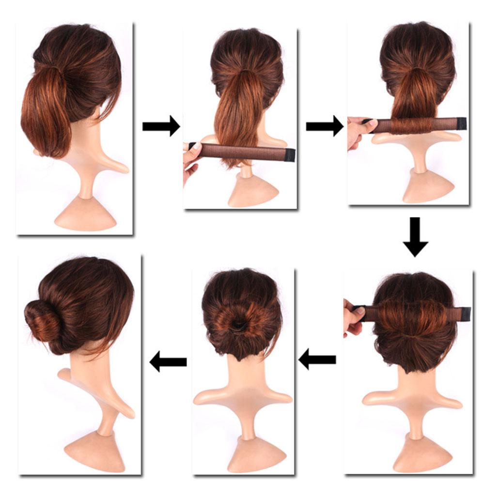 French Hair Bun In Seconds