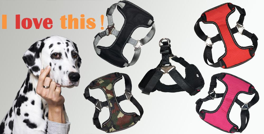 Adjustable Dog / Cat Harness - Classic Breathable Plaid Design