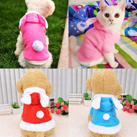 Bunny Rabbit Over Coat For Cats