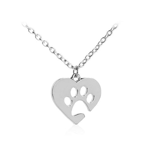 Paw Print Necklaces