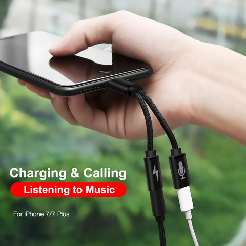 Audio & Charging Splitter For iPhone