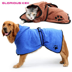 Pet Bathrobe - Suitable for Cats & Dogs