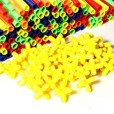 Image of Childrens Straw Building Blocks