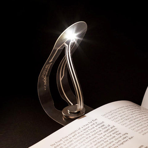 Thinnest LED Bookmark Reading Light
