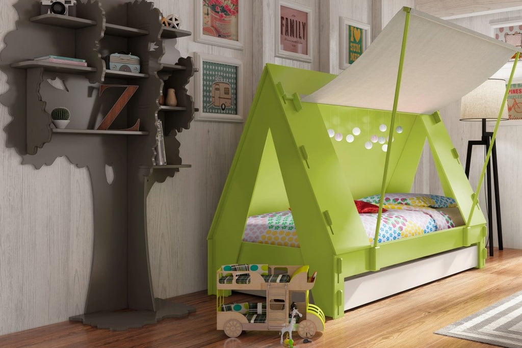 Tips for creating a small children's bedroom or nursery