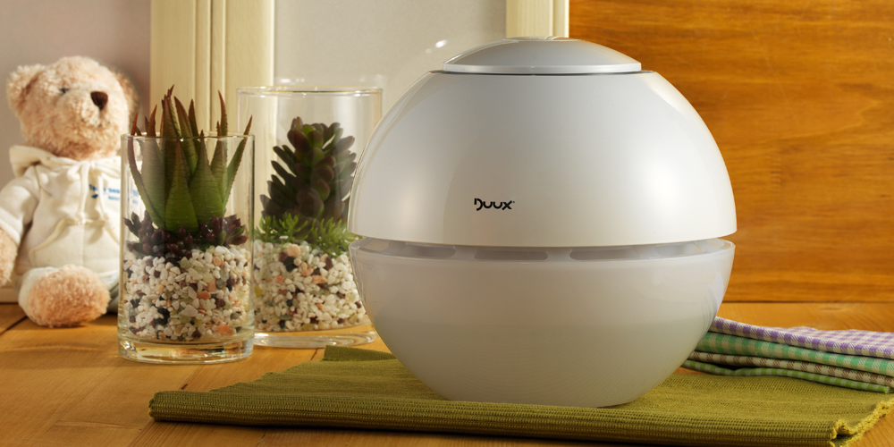 Duux air purifier lifestyle