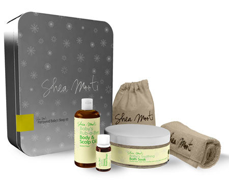 Pampered Baby's Sleep Kit Gift Set - Shea Mooti