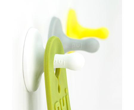 Nubs Soft Hooks White Grey Yellow - Puj