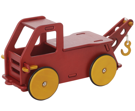 Moover Baby Truck Red