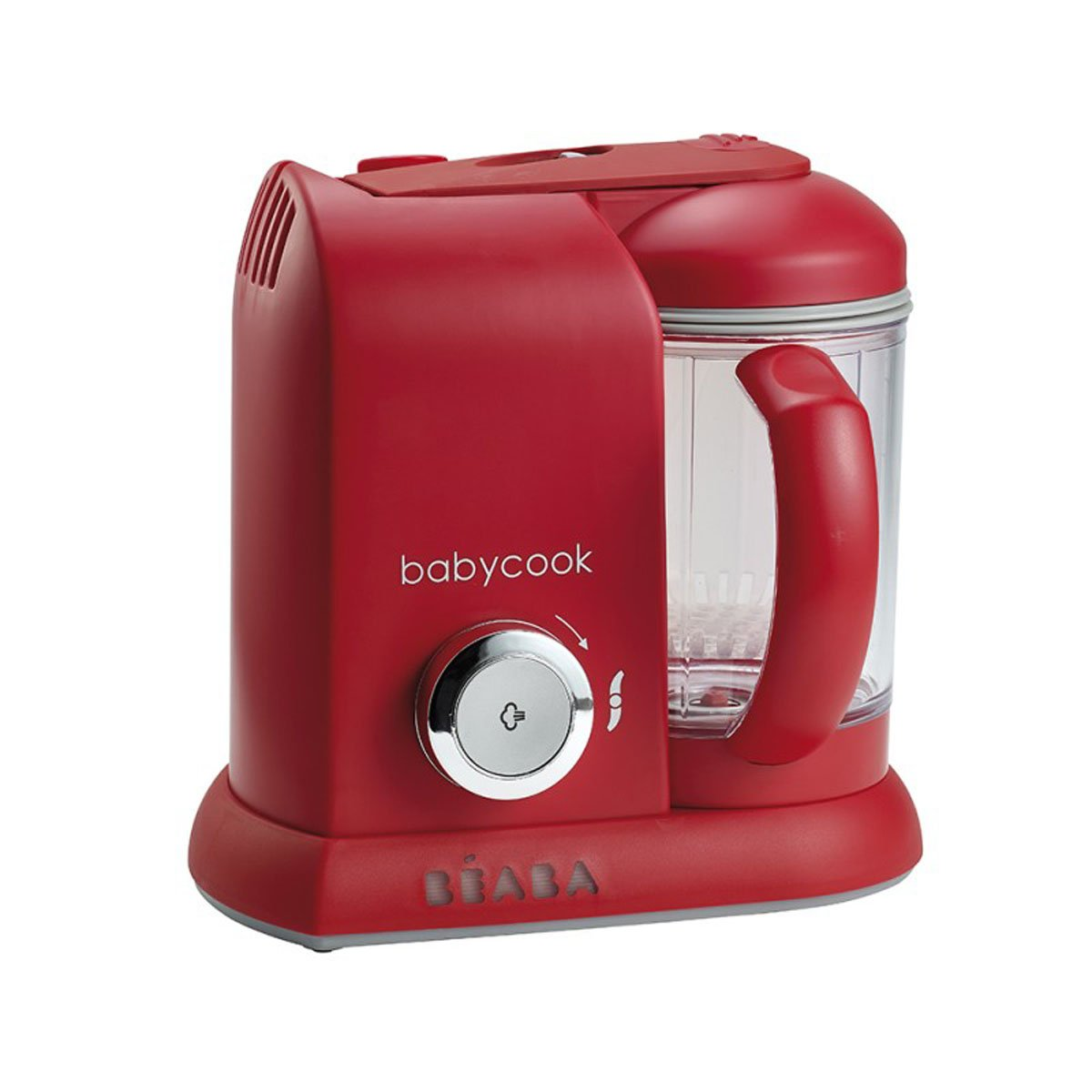 Babycook 4-in-1 Steamer and Food Processor Red - Beaba