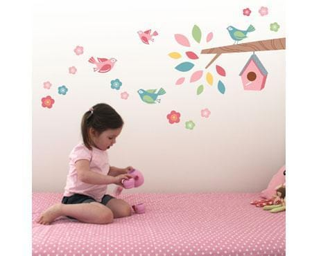 The Bird House Wall Stickers - Speckled House