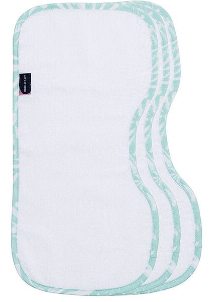Burp Cloth Set Premium Cotton Acapulco - Bebe Au Lait