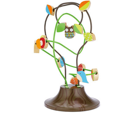 Skip Hop Treetop Friends Busy Bead Tree