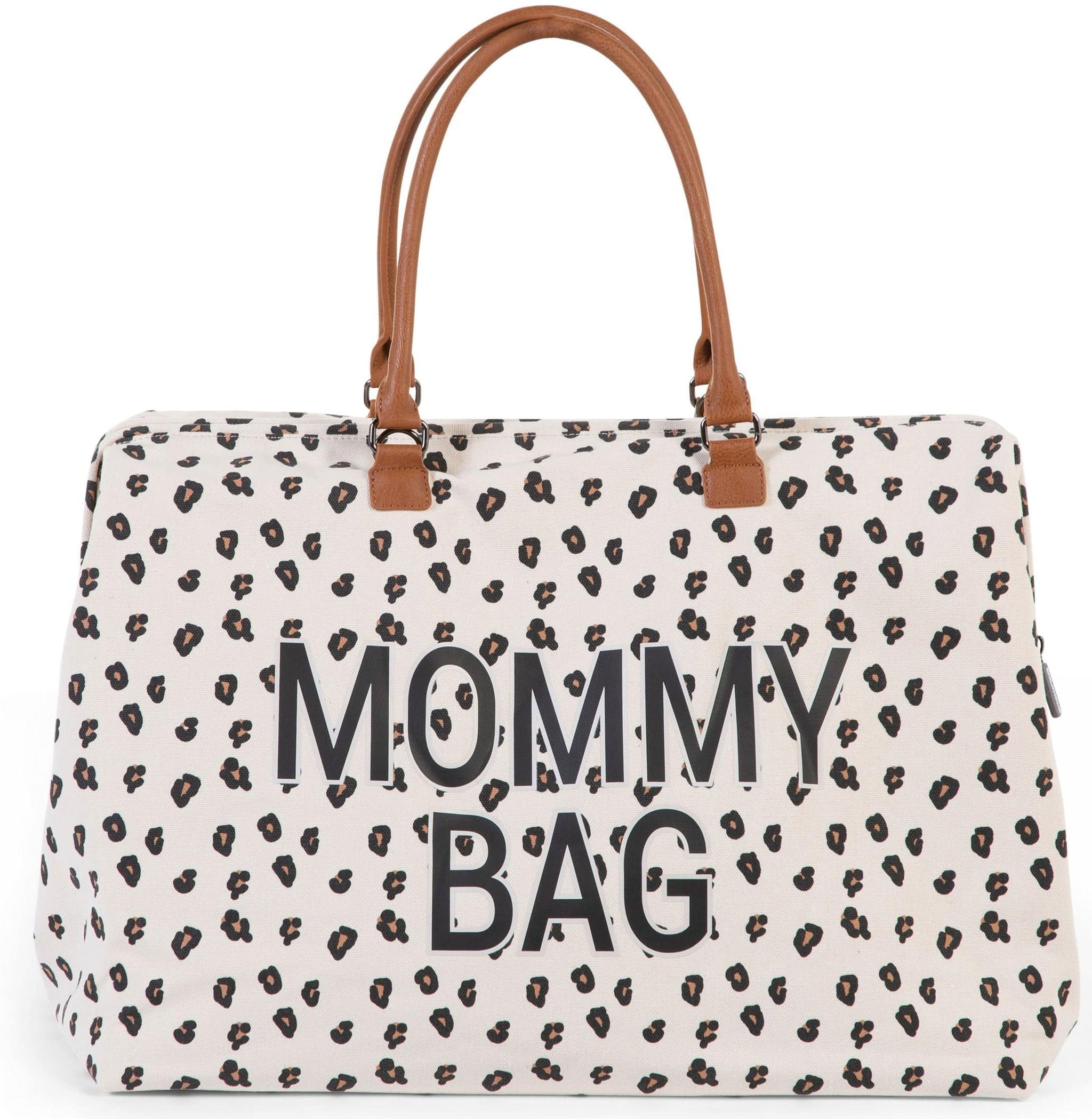 ChildHome Mommy Bag Big Canvas Leopard