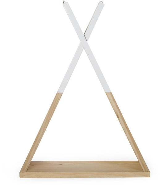 ChildHome Wall Shelf Teepee Natural White