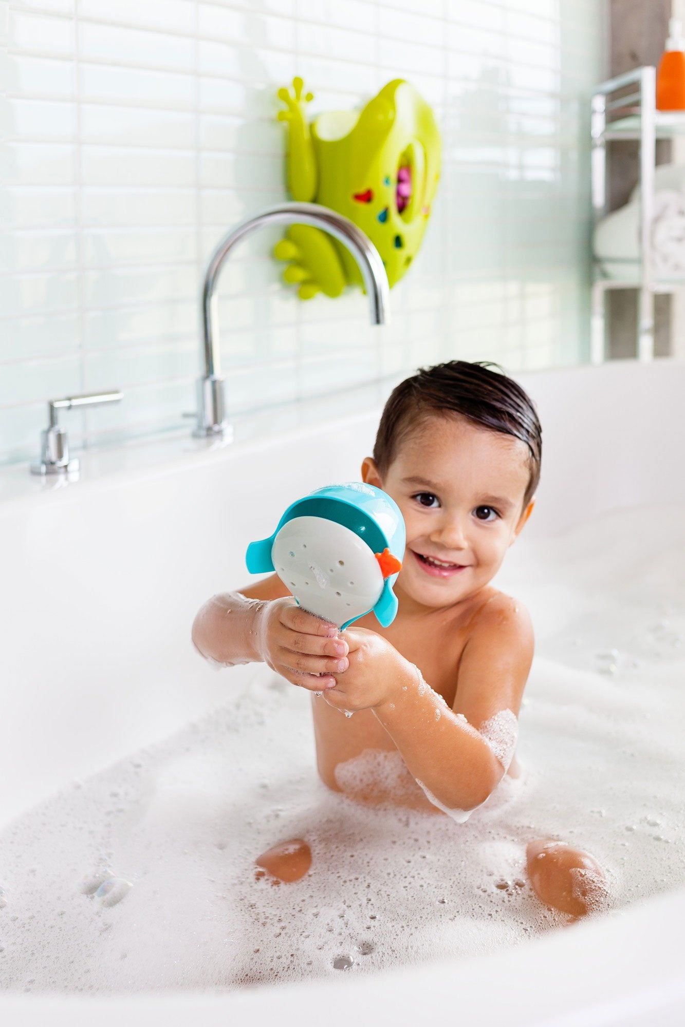 Chomp Hungry Whale Bath Toy - Boon